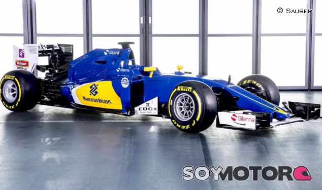 El nuevo Sauber ha cambiado muy poco respecto a su predecesor - LaF1