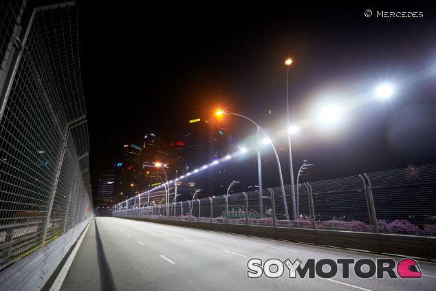 Descubrimos cada detalle del circuito de Singapur - LaF1