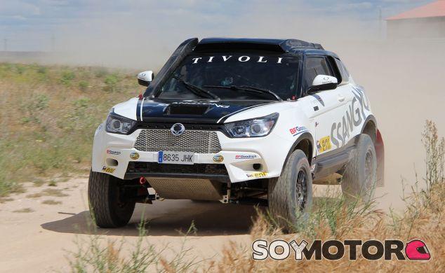Prueba SsangYong Tivoli Rally Raid: emociones Fuertes - SoyMotor.com