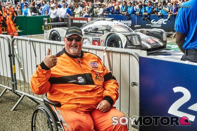 Steve en Le Mans - SoyMotor