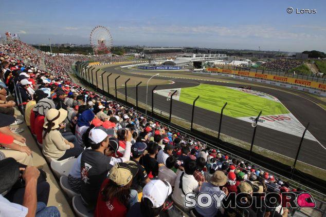 Imagen del circuito de Suzuka desde 'Casio', la última chicane del trazado - LaF1