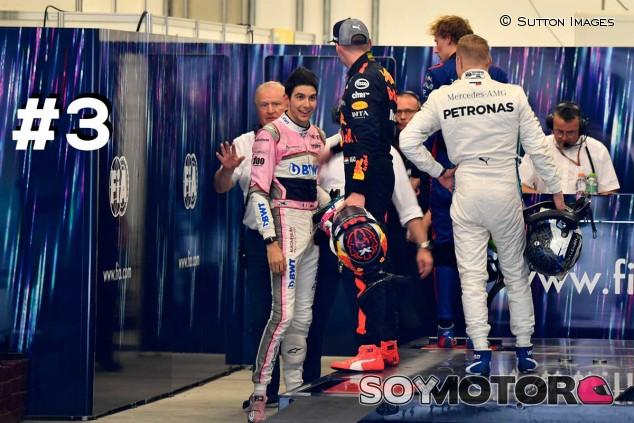 Esteban Ocon y Max Verstappen en Brasil - SoyMotor