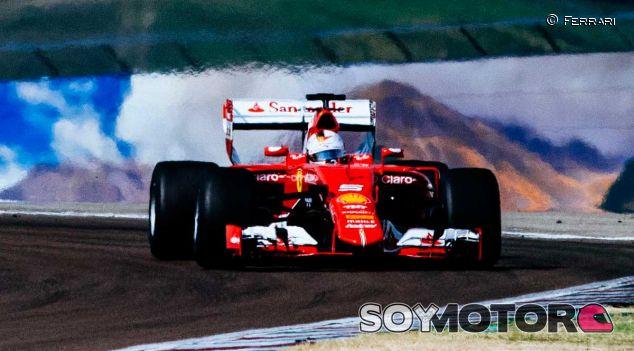Sebastian Vettel fue el primero en probar los prototipos de 2017 - LaF1
