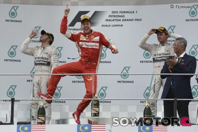 ¿Cuántas carreras ganará Sebastian Vettel en 2016? - LaF1