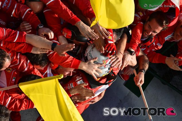 Sebastian Vettel, victorioso en Australia - SoyMotor