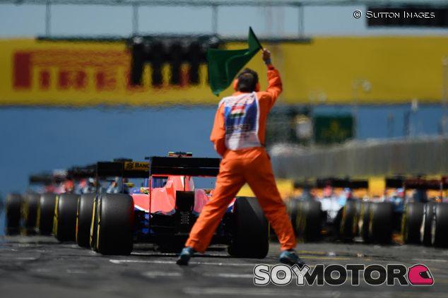 Salida del GP de Hungría 2016 - SoyMotor