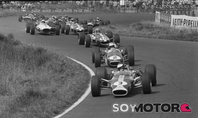 El GP de Alemania de 1967 es recordado por la gran competitividad del F2 de Jacky Ickx - LaF1