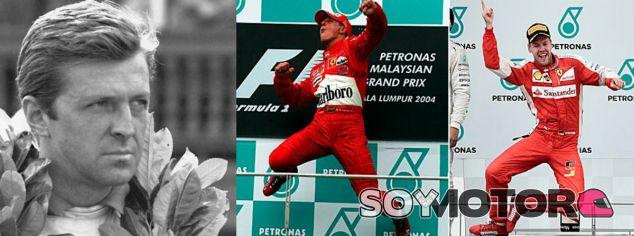 Von Trips, Schumacher y Vettel, tres leyendas alemanas en la F1 - LaF1