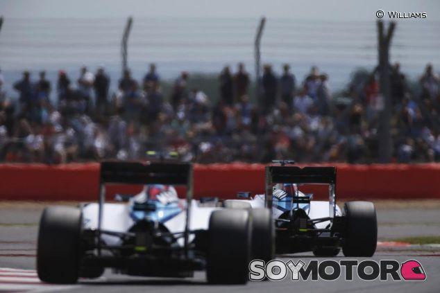 Los dos Williams en Silverstone - LaF1.es