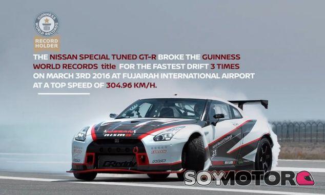 304,96 kilómetros por hora. No parece una velocidad apta para hacer un derrape - SoyMotor