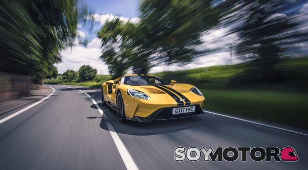 El Ford GT es uno de los superdeportivos más tecnológicos del planeta - SoyMotor