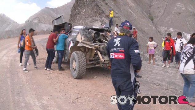 Carlos Sainz tras su accidente - SoyMotor