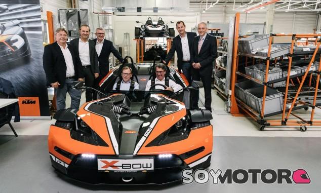 El KTM X-Bow tiene como principal novedad una estética más radical y deportiva- SoyMotor