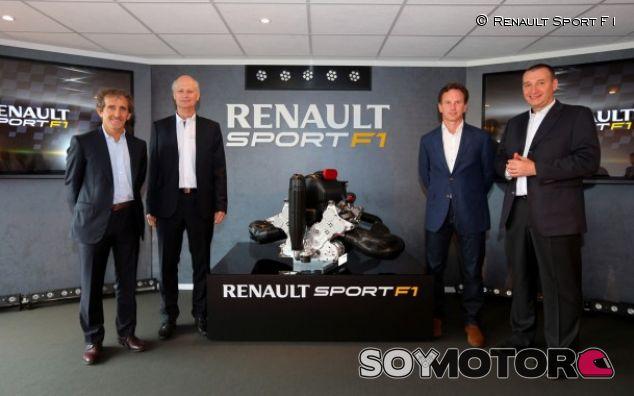 Renault podría haber probado también su V6 Turbo