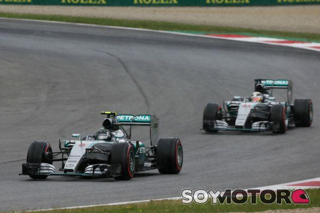 Los Mercedes saldrán más por televisión que en Japón - LaF1