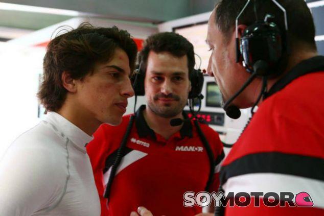Roberto Merhi en el GP de Malasia - LaF1
