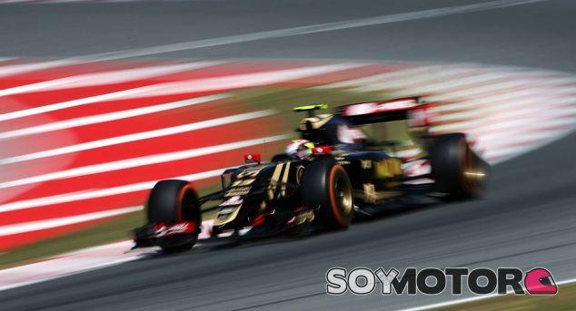 Pastor Maldonado en el Circuit de Barcelona-Catalunya - LaF1