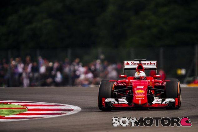 Sebastian Vettel en Silverstone - LaF1.es