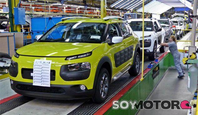 El Citroën C4 Cactus se fabrica en exclusiva en España - SoyMotor