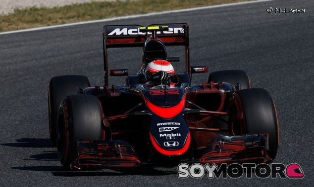Jenson Button, hoy en Barcelona - LaF1