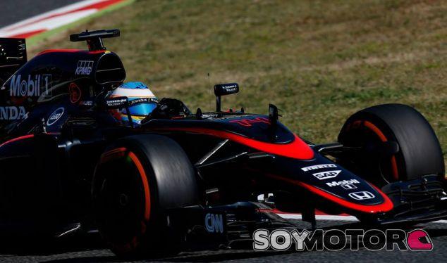 Fernando Alonso en Montmeló - LaF1