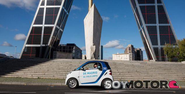 El proyecto car2go es inédito en nuestro país. Madrid es la cuarta ciudad del mundo en implantarlo - SoyMotor