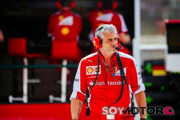 Maurizio Arrivabene orgulloso del trabajo en la Scuderia - LaF1