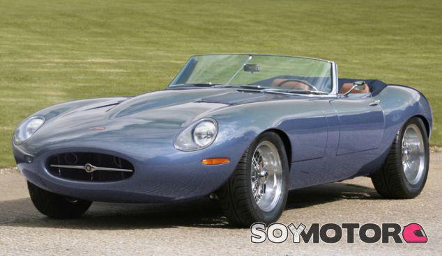 Eagle ha desvelado el Sypder GT, su modelo basado en el Jaguar E-Type - SoyMotor