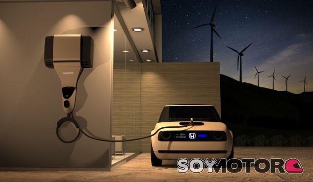 Esquema del sistema de transferencia de energía 'Honda Power Manager Concept' - SoyMotor
