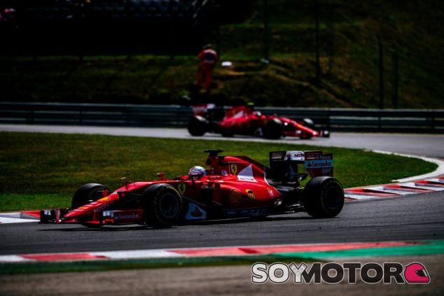 Los Ferrari en Hungría - LaF1.es