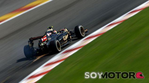 Pastor Maldonado en Bélgica - LaF1