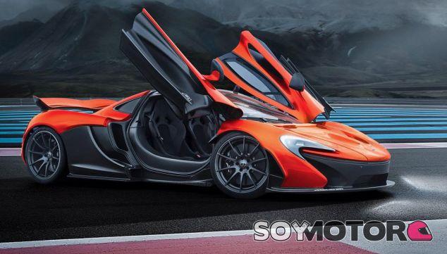 Este McLaren P1 luce fibra de carbono sin complejos - SoyMotor