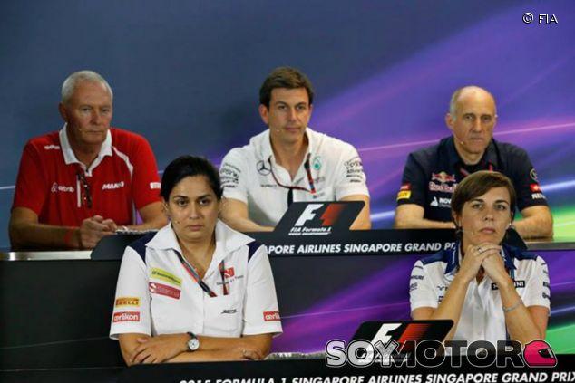 Rueda de prensa de los jefes de equipo - LaF1