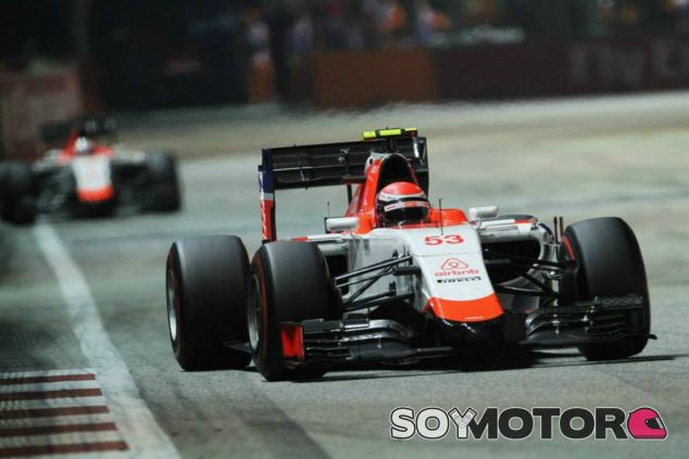 Rossi quedó 14º en su debut con Manor - LaF1