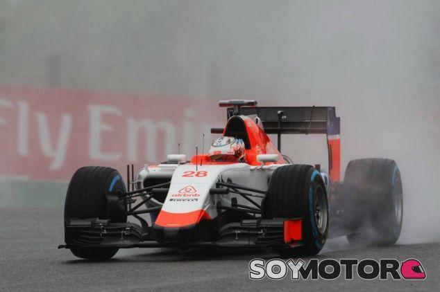 Stevens con neumáticos de lluvia extrema - LaF1