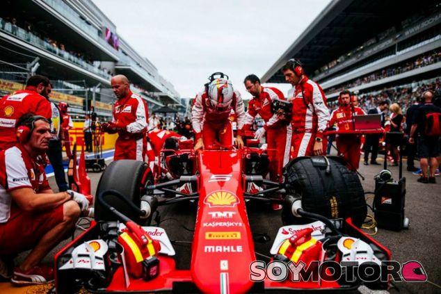 Ferrari prepara su última evolución para el GP de Estados Unidos - LaF1