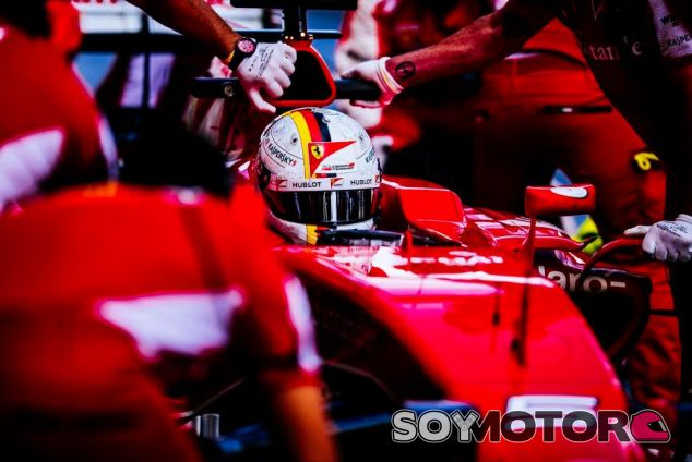 Sebastian Vettel confía en las opciones de Ferrari en 2016 - LaF1