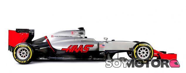 Éste es el VF-16 con el que Haas F1 Team hará su debut en la Fórmula 1 - LaF1