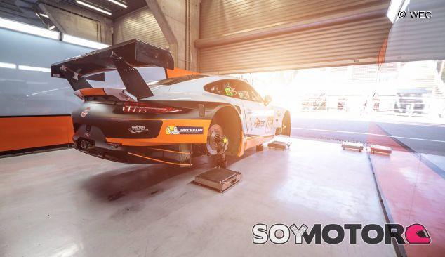 Aston Martin Vantage en las 6 horas de Spa-Francorchamps del pasado fin de semana - LaF1