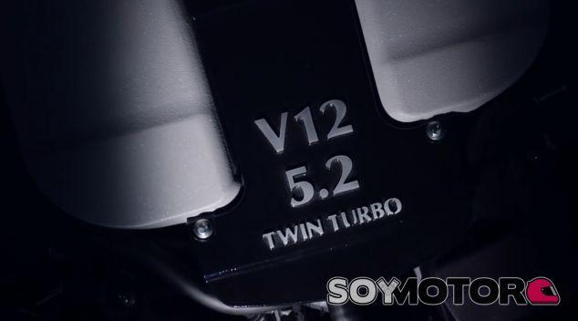V12 5.2 Twin Turbo. El nuevo motor de Aston Martin no engaña - SoyMotor