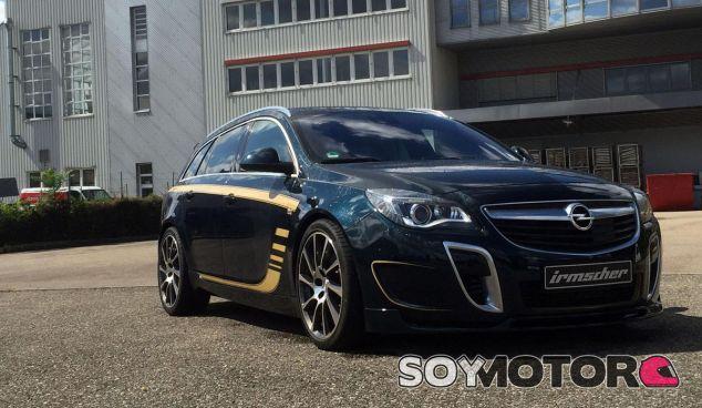 Exclusividad y mejora de prestaciones para el Opel Insignia OPC Sports Tourer - SoyMotor