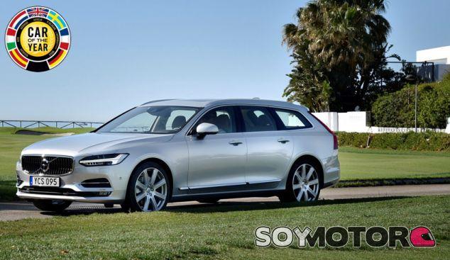 El Volvo S90/V90 es uno de los siete candidatos al galardón Coche del Año 2017 - SoyMotor