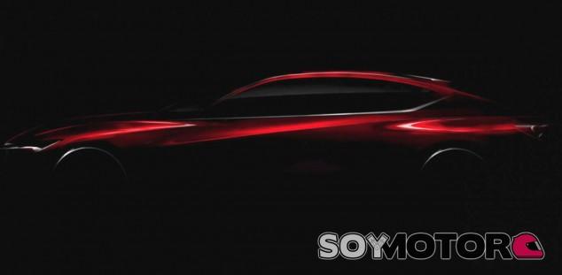 Este es el primer téaser del Acura Precision Concept - SoyMotor