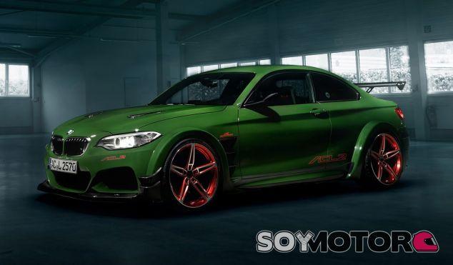 La imagen del BMW M 235i de AC Schnitzer es de todo menos discreta - SoyMotor