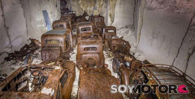 El óxido ha ganado la partida a estos vehículos que son otras víctimas más de Hitler - SoyMotor