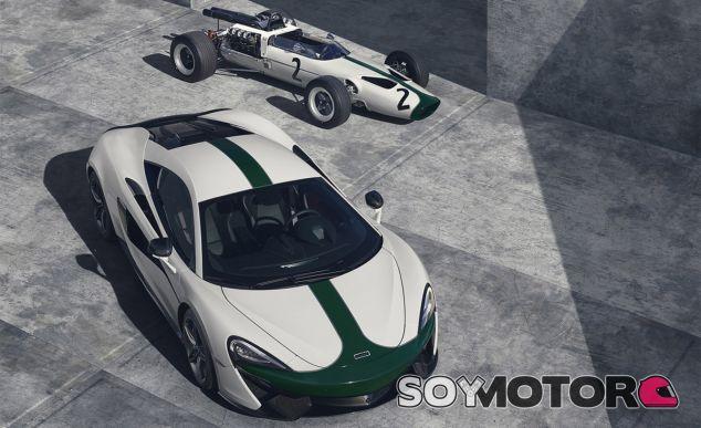 La esencia 'racing' ligada a McLaren se palpa todavía más en este 570S M2B - SoyMotor