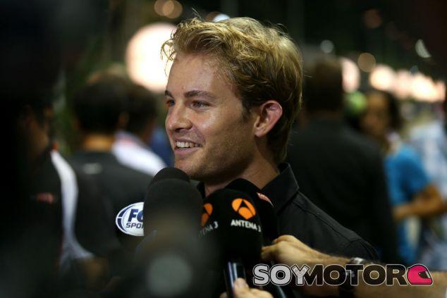 Nico Rosberg solo contempla la victoria en Singapur - LaF1