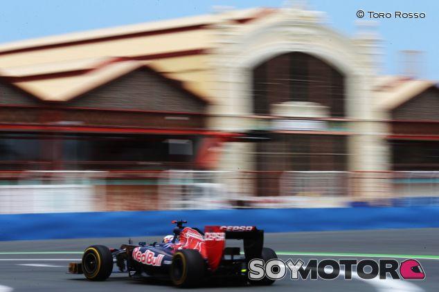Daniel Ricciardo en el Gran Premio de Europa de 2012 - LaF1
