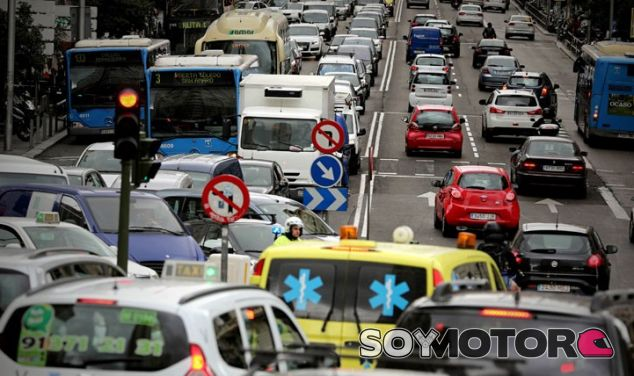 Tráfico en Madrid - Soy Motor