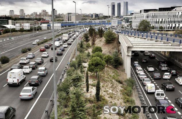 Atasco en la M-30, Madrid
